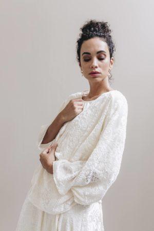 Kimono velours de soie