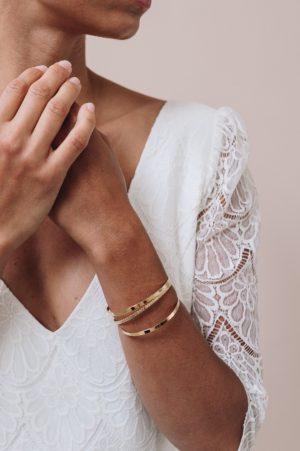 bijoux créateurs robe de mariée anne de lafforest bracelets