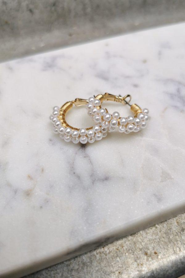Boucles d'oreilles Charlotte - Anne de Lafforest - Paris