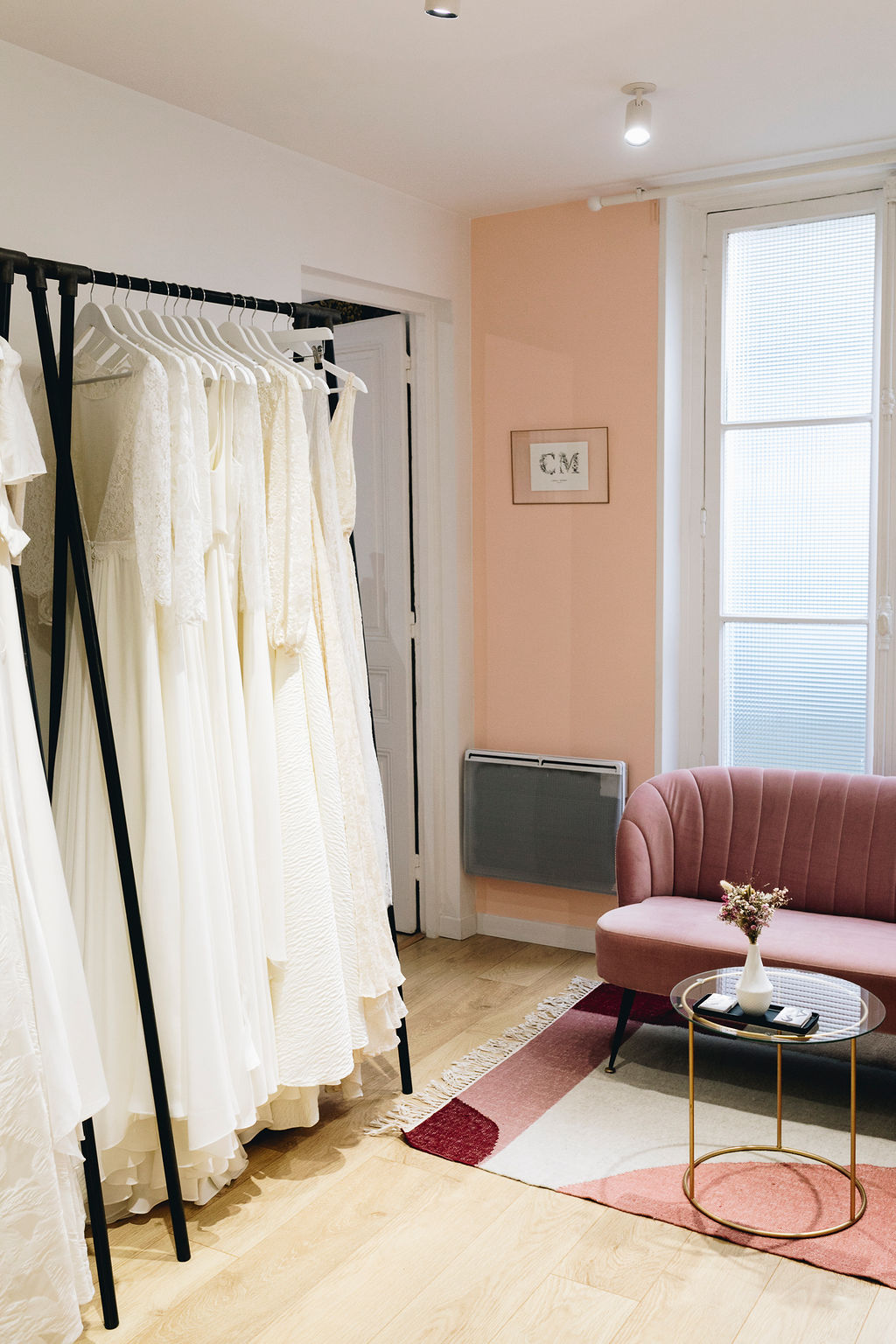 atelier showroom robe de mariée paris france