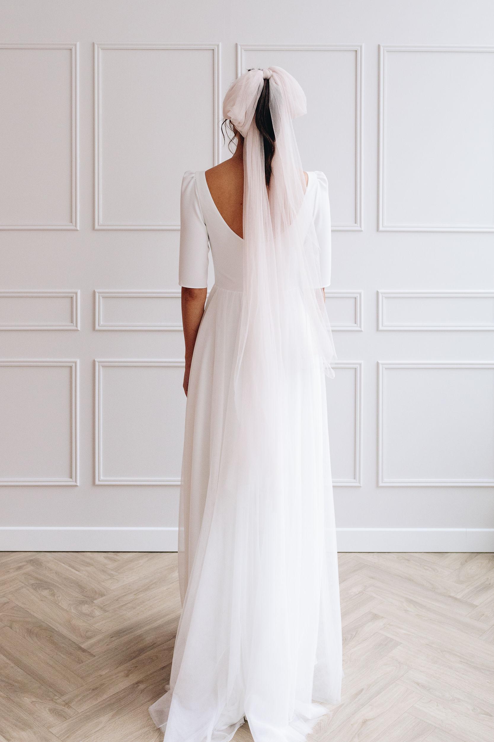 robe de mariée tulle Anne de lafforest