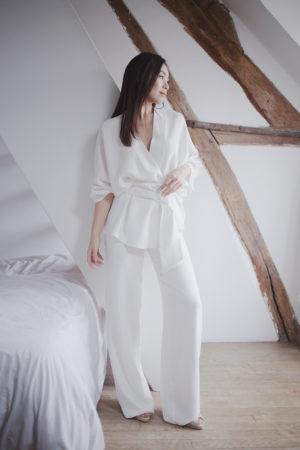 Anne de Lafforest - Créatrice de Robes de mariée - Paris - mariage civile