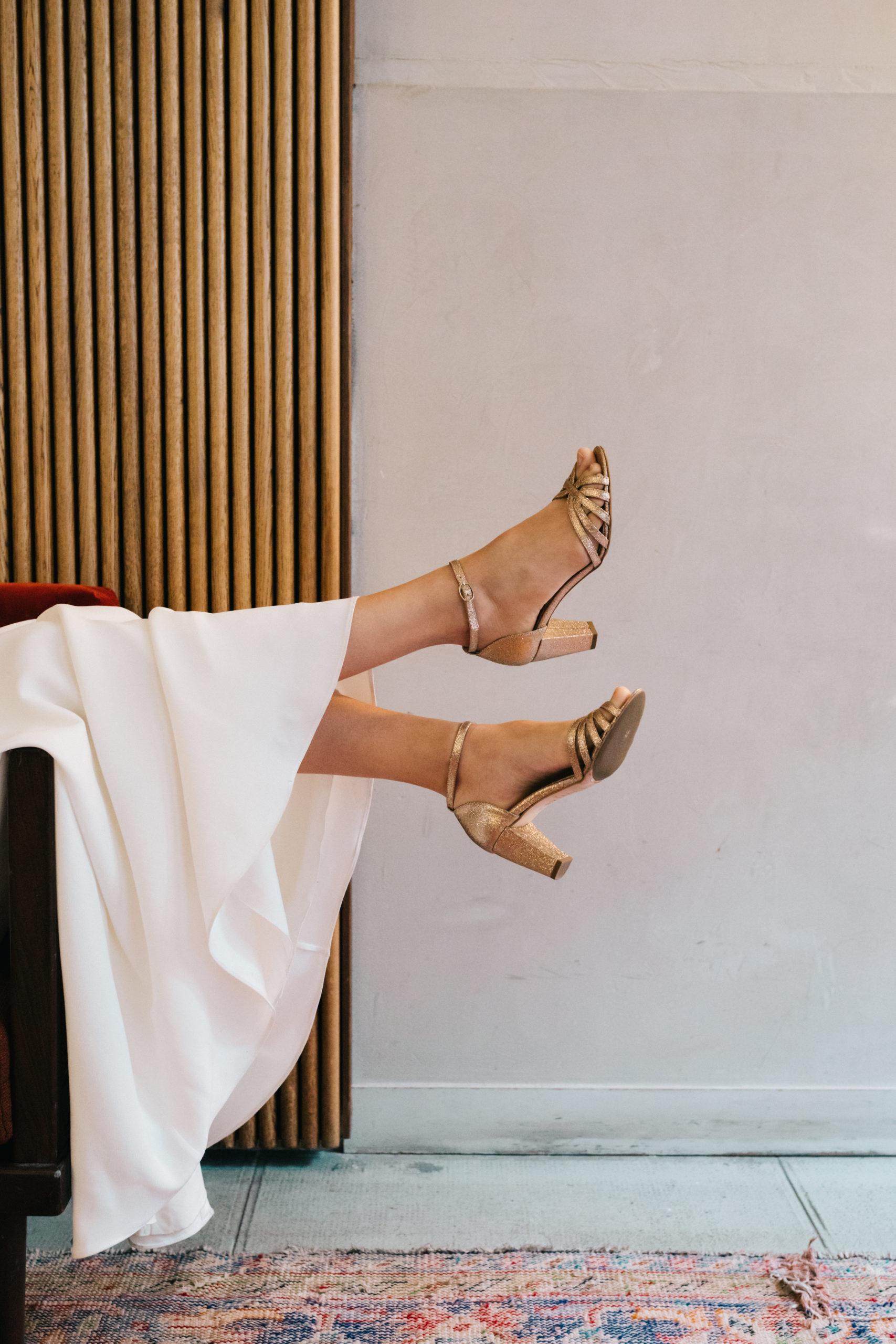 Anne de Lafforest - Paris - chaussures mariée - Anniel