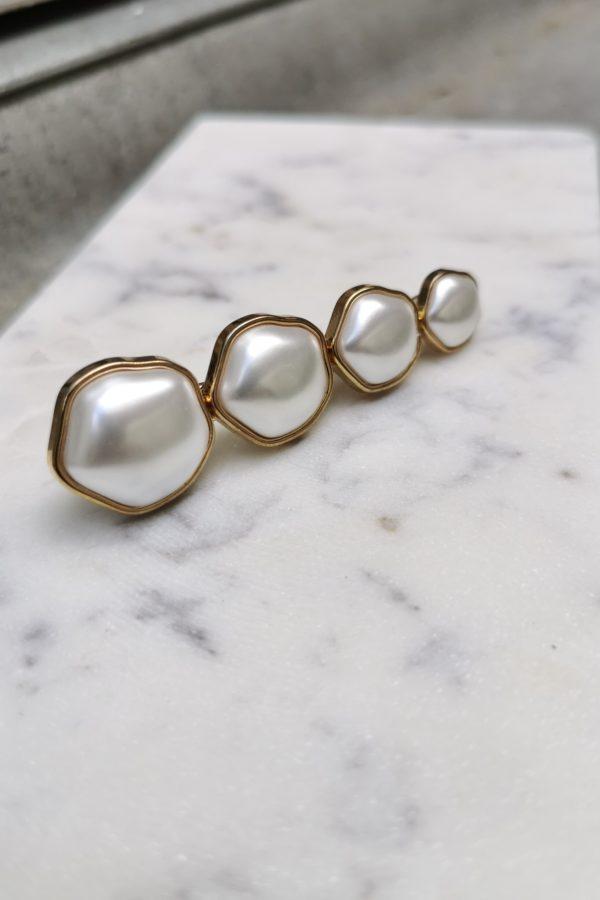 Barrette à perles - Anne de Lafforest - Paris