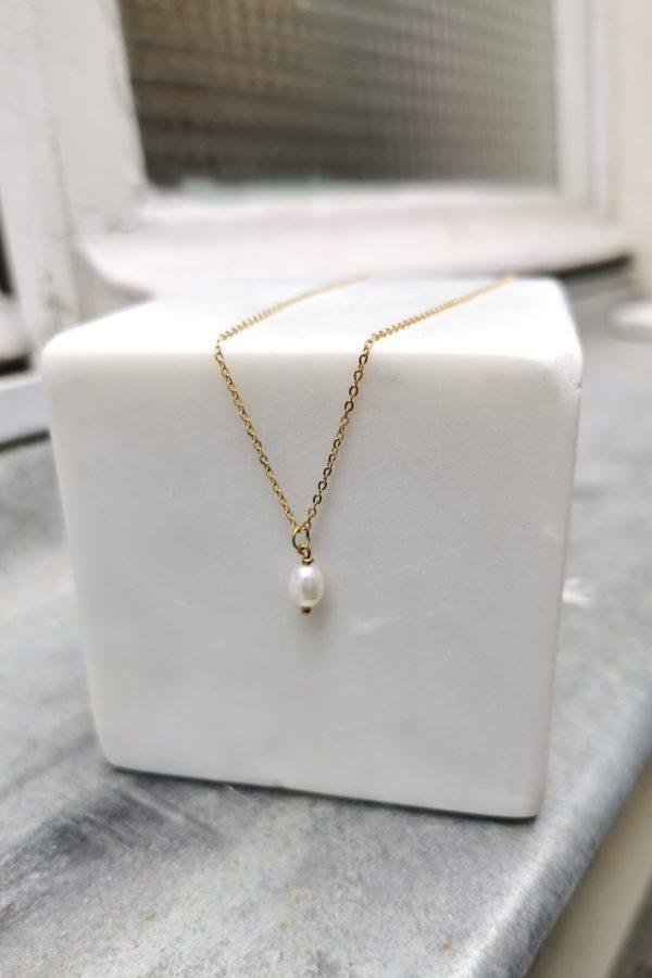 Collier perle d'eau douce - Anne de Lafforest - Paris