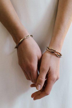 Bracelet Jonc Clotilde - Anne de Lafforest - Paris