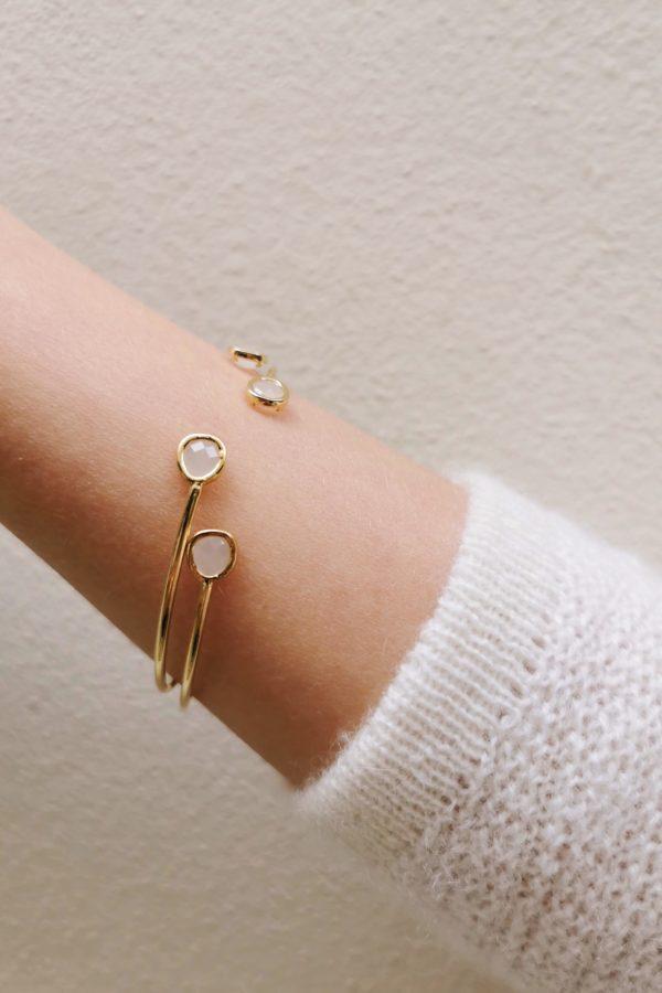 bracelet jonc agathe