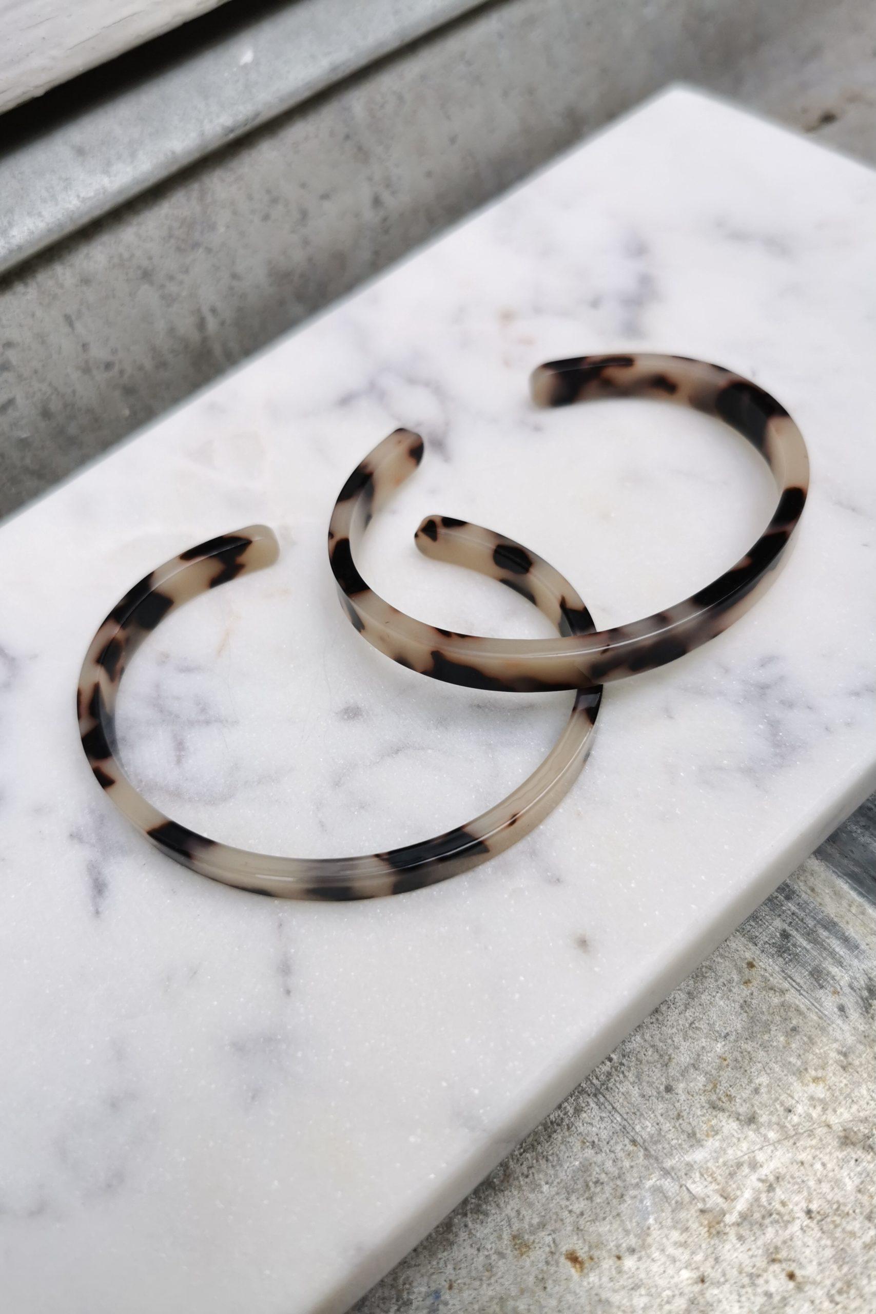 Bracelet Ecaille tortue - Anne de Lafforest - Paris