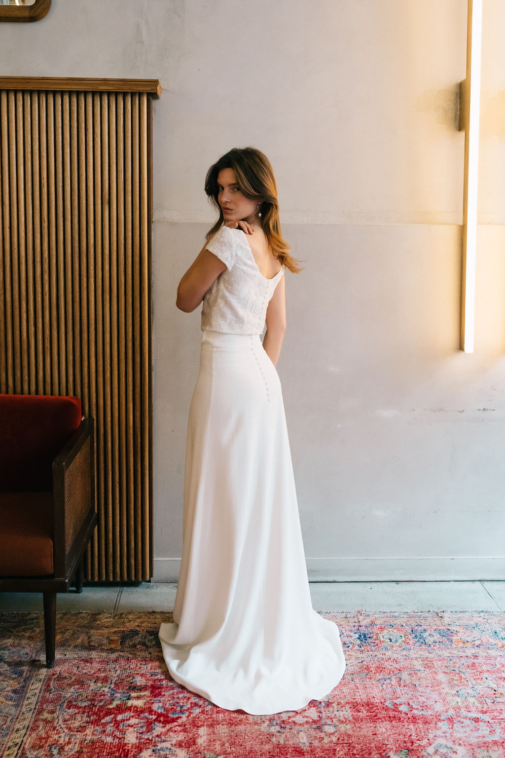 Robe de Mariée Bellagio & Riviera - Anne de Lafforest - Paris-83