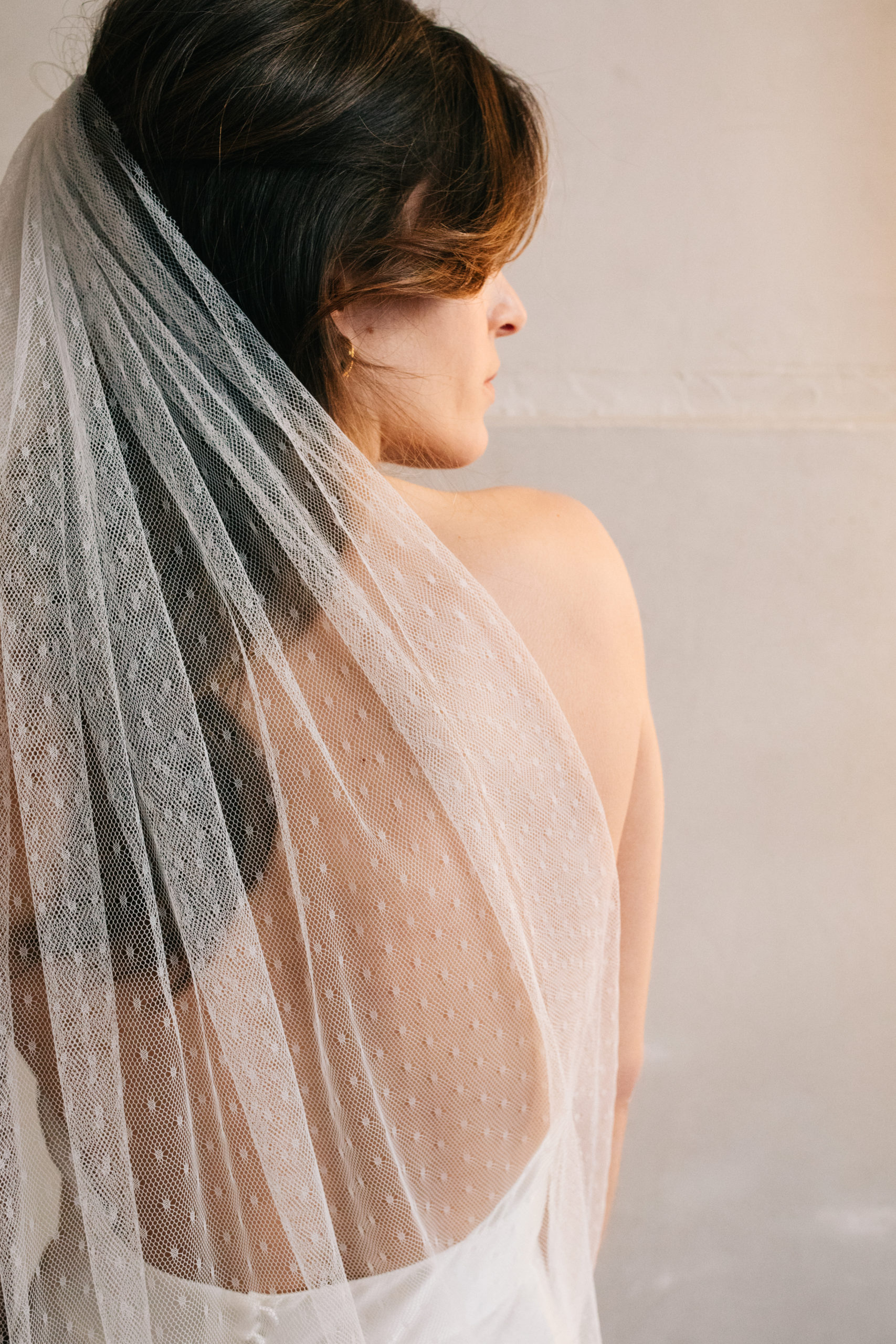 Anne de Lafforest - Paris - Voile de mariée