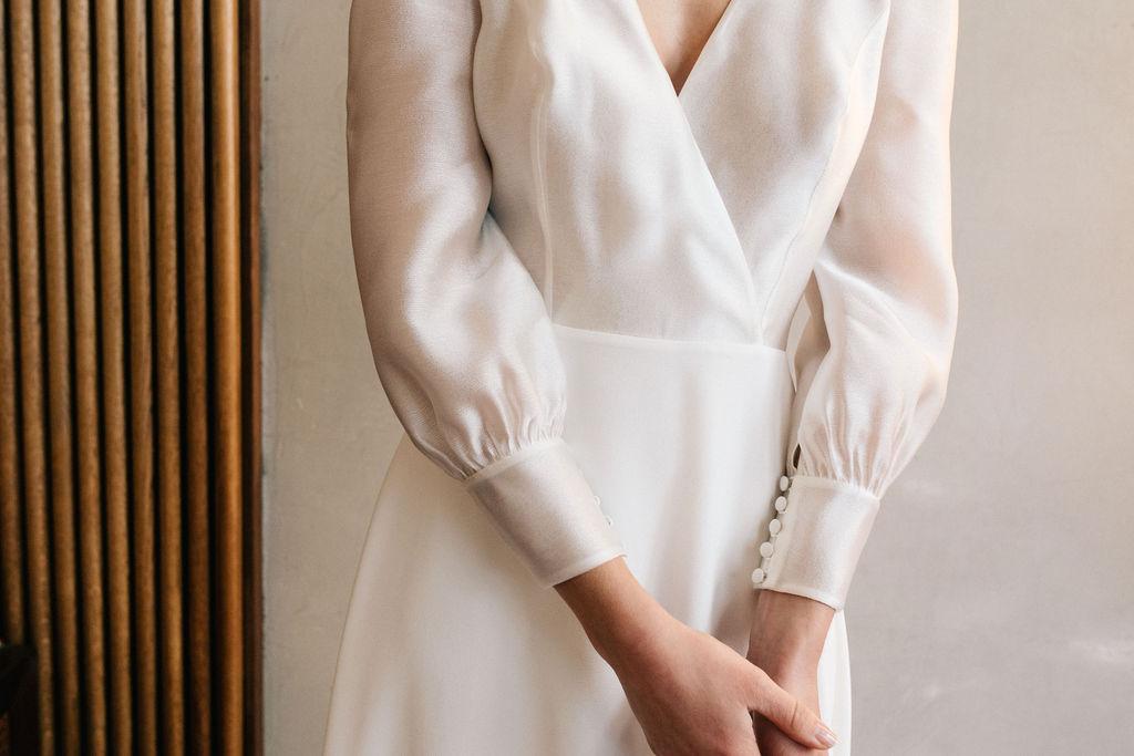 Robe de Mariée Crystal - Anne de Lafforest - Paris