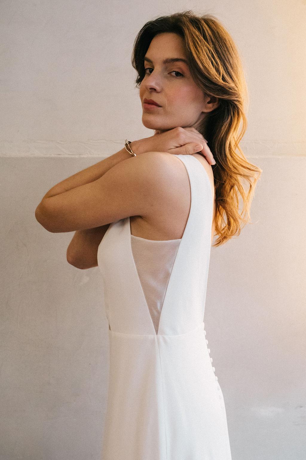 Robe de Mariée Mirage - Anne de Lafforest - Paris