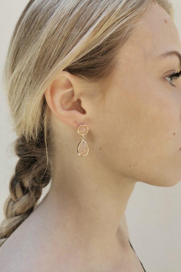 Boucles d'oreilles Justine - Anne de Lafforest - Paris