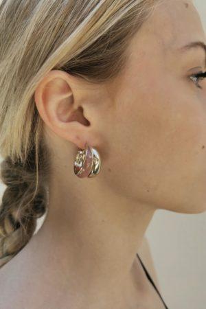 Boucles d'oreilles Marine - Anne de Lafforest - Paris