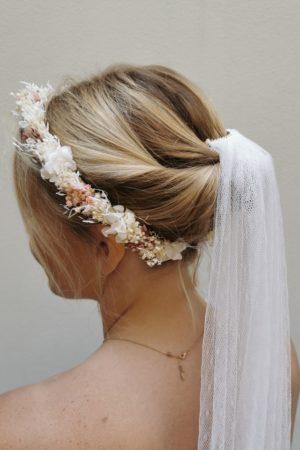 couronne mariée accessoire mariage